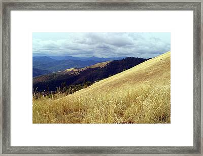 Early Winter Storm Framed Print by Jim Nelson