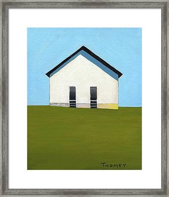 Earlysville Baptist Church Framed Print