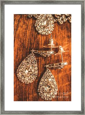 Earmark Event Jewellery Framed Print