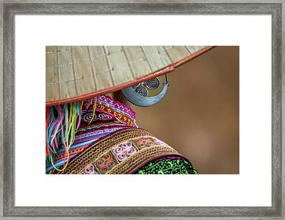 Earring Framed Print