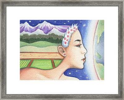 Earth - The Elements Framed Print