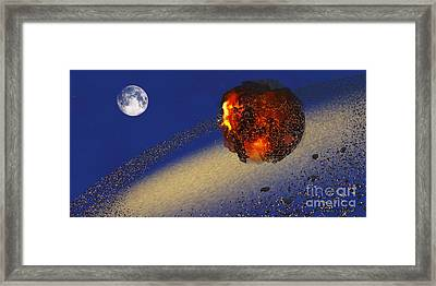 Earth 2012 Framed Print by Corey Ford