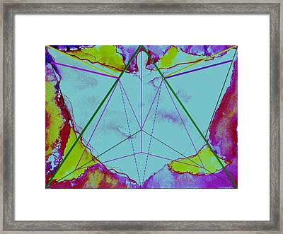 Earth Angel Framed Print by AnDe Herbert