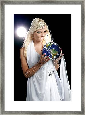 Earth Angel Framed Print