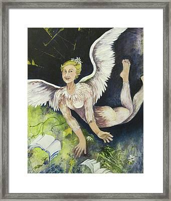 Earth Angel Framed Print by Georgia Annwell