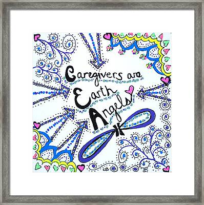 Earth Angel Framed Print by Carole Brecht