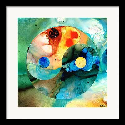 Yang Framed Prints