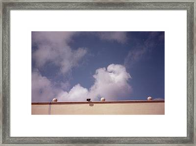 Earth Calling Sky  Framed Print