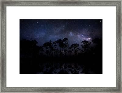 Earth Cinema Framed Print by Mark Andrew Thomas