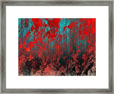 Earth Crime Pandemic Framed Print by Andy Readman