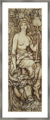 Earth Framed Print by Frederick G Smith