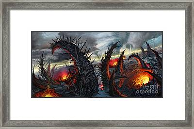 Earth Gives Back Framed Print by Tony Koehl