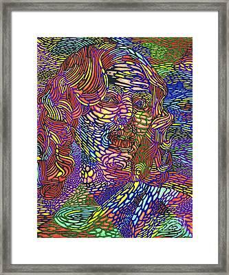 Earth Goddess Framed Print