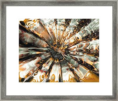 Earth Impact Framed Print by Artist   McKenzie