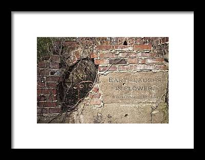 Stone Walls Framed Prints