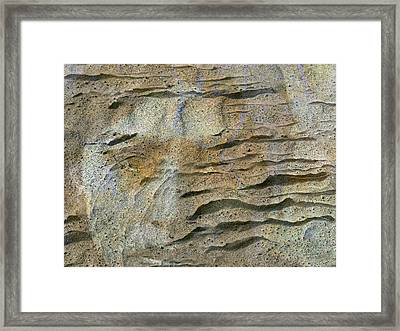 Framed Print featuring the photograph Earth Memories-sleeping River # 2 by Ed Hall