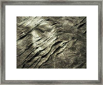Framed Print featuring the photograph Earth Memories - Sleeping River # 4 by Ed Hall