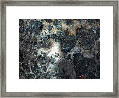 Framed Print featuring the photograph Earth Memories - Stone # 8 by Ed Hall