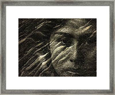 Framed Print featuring the photograph Earth Memories - Water Spirit by Ed Hall