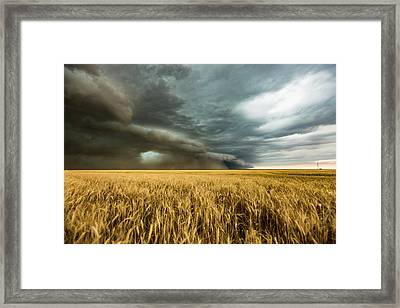 Earth Mover Framed Print by Sean Ramsey