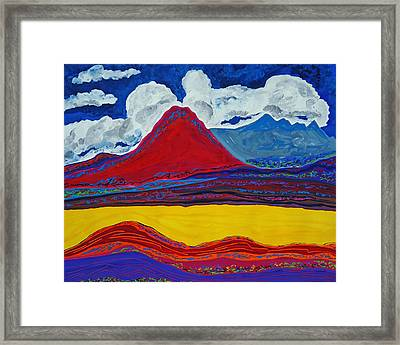 Earth Of Passing Days Framed Print by Nicholas Vitale