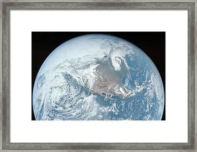 Earth Rise Framed Print