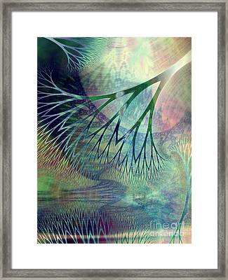 Earth Song 2 Framed Print