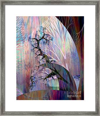 Earth Song 4 Framed Print