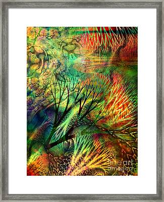 Earth Song 8 Framed Print
