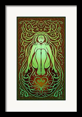 Shakti Framed Prints