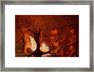Earth Spirits Framed Print by Andrew Gardner