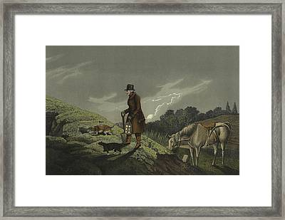 Earth Stopper Framed Print by Henry Thomas Alken