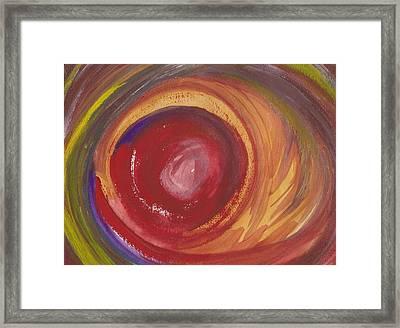 Earth Storm  Framed Print