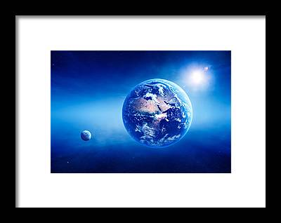 Earth Science Framed Prints