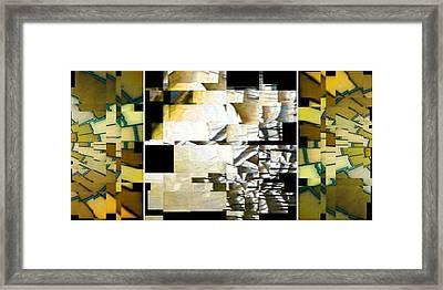 Earth Framed Print by Gyorgy Szilagyi