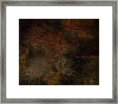 Earth Texture 1 Framed Print