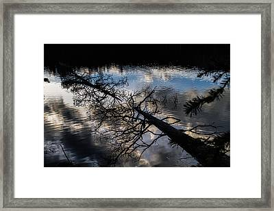Earth To Water Framed Print