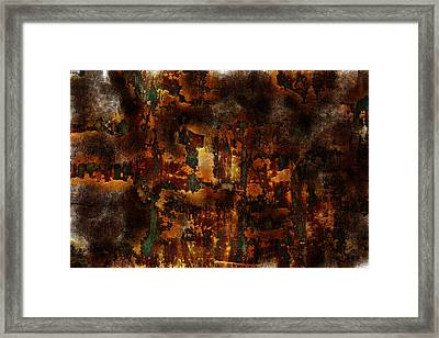 Earth Tones Framed Print