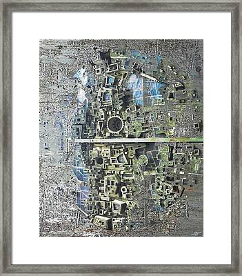 Earth Two Framed Print