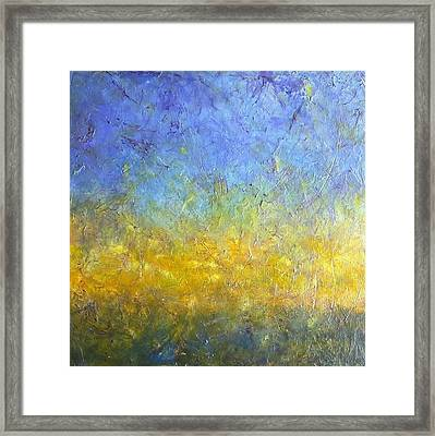 Earth Vibration Framed Print