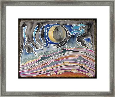 Earth Voices During The Eccentricity Of The Lunar Orbit Framed Print