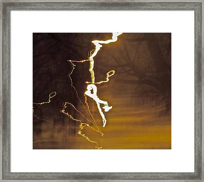 Framed Print featuring the photograph Earth Vs Air by Xn Tyler