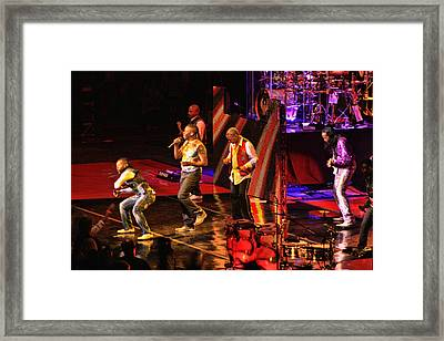 Earth Wind And Fire Framed Print by Tommy Anderson