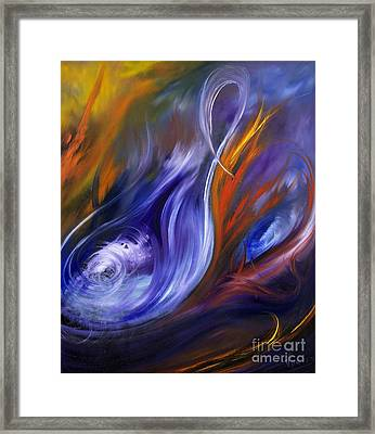 Earth, Wind And Fire Framed Print