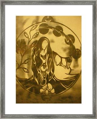 Earth Woman Framed Print by Austen Brauker