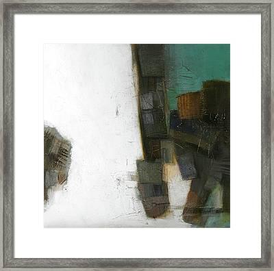 Earth Pattern Framed Print