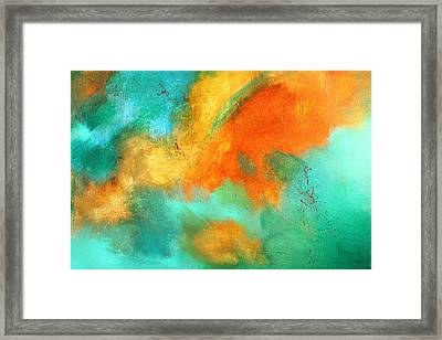 Earthbound Abstract Framed Print