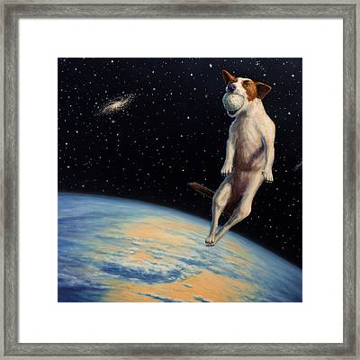 Earthbound Dream Framed Print by James W Johnson