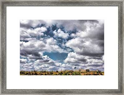 Earthbound - Live Oak Texas Framed Print by Wendy J St Christopher