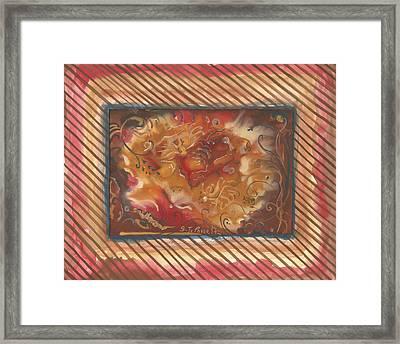 Eartheart Framed Print
